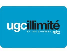 UGC: Abonnement UGC illimité : frais de dossier à 10€ seulement