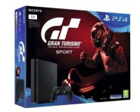 "Auchan: Console PS4 Slim 1To Noire + Gran Turismo Sport + ""Qui es-tu ?"" à 319,99€"