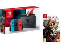 Auchan: Console Nintendo Switch + Dragon Ball Xenoverse 2 à 329,99€