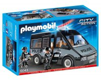 ToysRUs: Fourgon de police Playmobil avec sirène et gyrophare à 22,49€