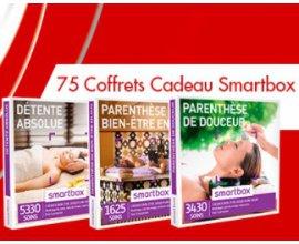 Bons plans des marques: 1 week-end relaxant près de Bordeaux et 75 coffrets cadeaux Smartbox à gagner