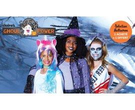 Claire's: Sélection Halloween 1 acheté = 1 offert au choix