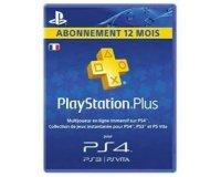 Auchan: Abonnement Playstation Plus 1 an à 44,99€