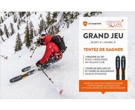 Rossignol: 1 séjour au ski pour4, 1 paire de skis adulte et 1 paire de skis enfant à gagner