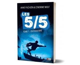 """madmoiZelle: 10 romans jeunesse """"Les 5/5 - Tome 1 : En équilibre"""" à gagner"""