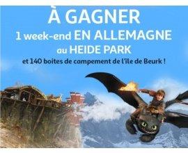 Auchan: 1 weekend au Heide park pour 4 & 140 boites Playmobil à gagner