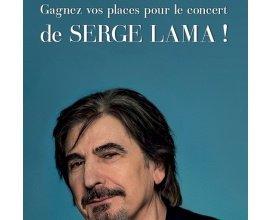 Le Parisien: Des places pour le concert de Serge Lama à gagner