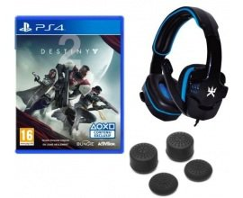 Fnac: 1 casque Gaming et du grip de manette offerts pour l'achat de Destiny 2 sur PS4