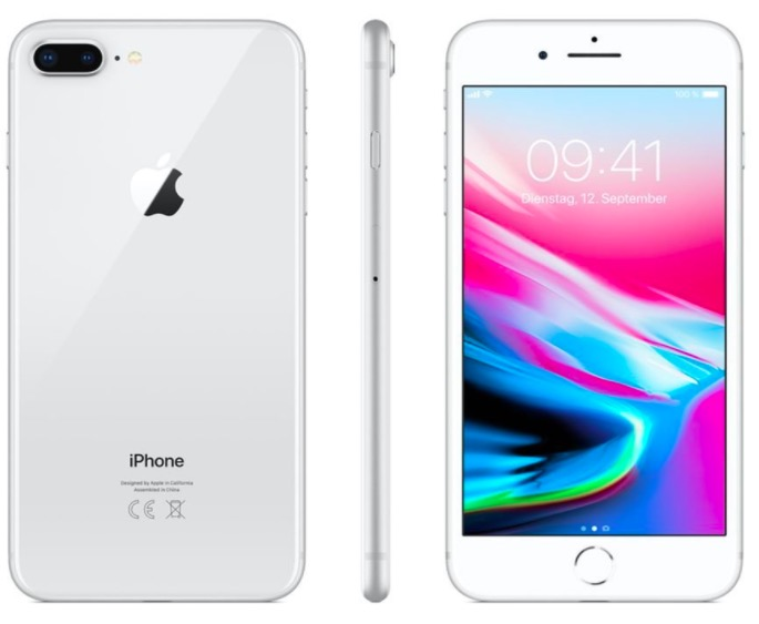 Code promo Amazon : Apple iPhone 8 Plus 64 Go Argent à 799€ au lieu de 919€