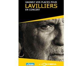 Le Parisien: 5 × 2 places pour le concert de Bernard Lavilliers le 25/11 à Paris à gagner