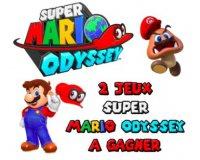 """Retro-HD: 2 jeux vidéo """"Super Mario Odyssey"""" sur Nintendo Switch à gagner"""