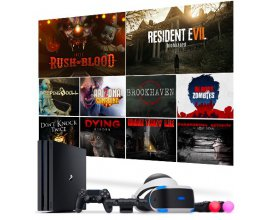 Playstation: 1 console PS4 Pro 1To, 1 Casque VR et 10 jeux PS VR à gagner