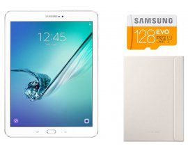 "Amazon: Tablette Samsung Galaxy Tab S2 9,7"" Blanc + Carte SD 128 Go + Housse à 369€"