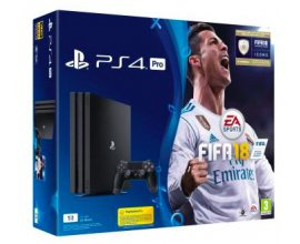 Fnac: Pack Console Sony PS4 Pro 1 To Noire + FIFA 18 à 409,99€