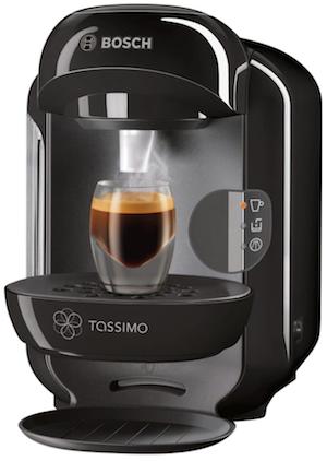 Code promo BUT : Cafetière à dosette Tassimo BOSCH TAS12A2 à 39,99€