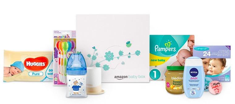 Code promo Amazon : Une BabyBox gratuite dès 25€ dépensés dans une liste de naissance