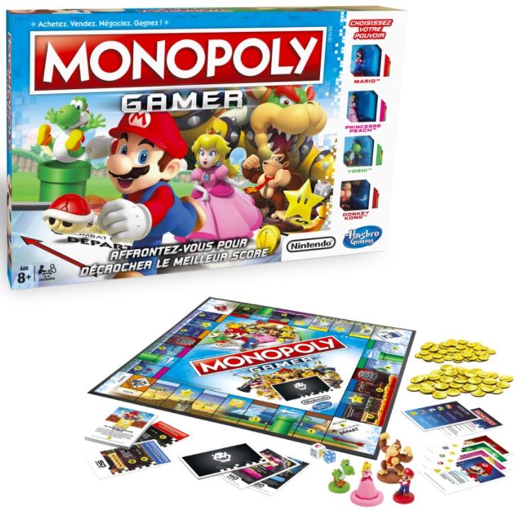 Code promo Amazon : Monopoly Gamer Mario par Hasbro - C18151010 à 23,41€