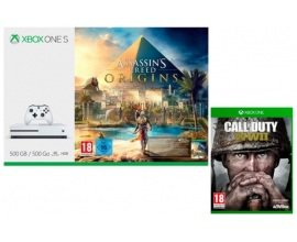 Micromania: -30€ ou -50€ + le jeu Call of Duty WWII offert pour l'achat d'un pack Xbox One S