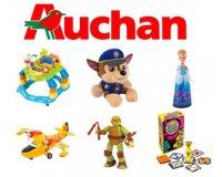 Auchan: 10€ offerts par tranche de 50€ d'achat de jouets (max 30€ offerts)