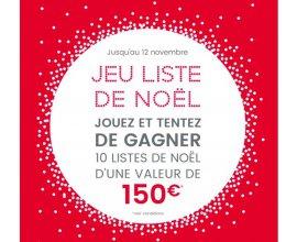 Oxybul éveil et jeux: 10 listes de Noël d'une valeur de 150€ à gagner
