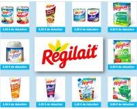 Régilait: Nombreux bons de réduction Régilait à imprimer toute l'année