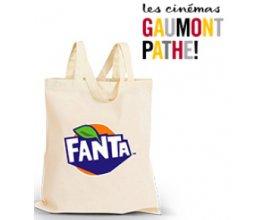 Gaumont Pathé: 5000 sacs en coton Fanta à gagner