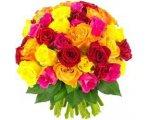 Florajet: Bouquet de 60 Roses multicolores à 39,90€ au lieu de 43,90€
