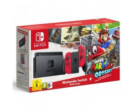 Micromania: -8% au Pack Nintendo Switch + Super Mario Odyssey