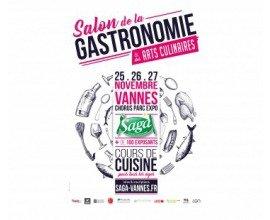 Ouest France: 50 places pour le salon de la gastronomie à Vannes à gagner