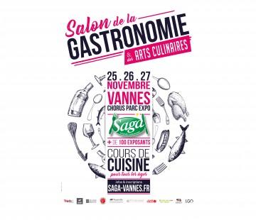 50 places pour le salon de la gastronomie vannes for Le salon de la gastronomie