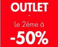 Camaïeu: [Offre d'automne] Le 2ème article Outlet à -50%