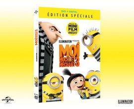 Femme Actuelle: 50 DVD du dessin animé Moi, Moche et Méchant 3 à gagner