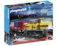 Auchan: Train porte conteneur radio commandé Playmobil 5258 à 89,99€