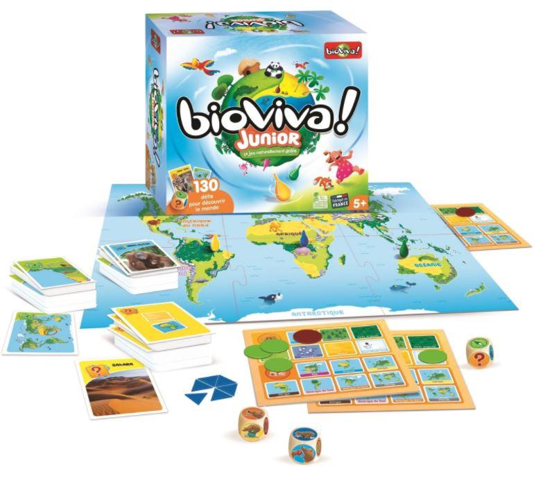 """Code promo Télé 7 jours : 10 jeux de société """"Bioviva Junior"""" à gagner"""