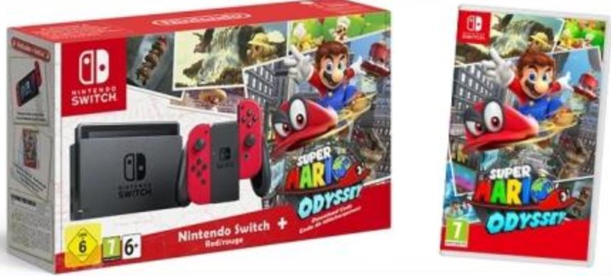 Code promo Virgin Radio : Des packs console Nintendo Switch + jeu Super Mario Odyssey à gagner