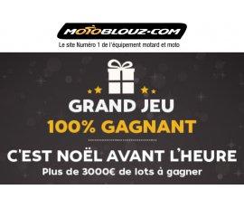 Motoblouz: + de 3000€ de lots moto à gagner dont une tenue complète et des gps ou intercom