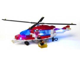 Oxybul éveil et jeux: Hélicoptère de pompiers Lite Brix à 20,99€ au lieu de 34,99€