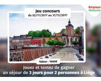 GEO: 1 week-end pour 2 personnes à Liège (3j/2n) à gagner
