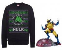 Zavvi: 1 figurine Wolverine offerte pour l'achat d'un Sweat de Noël Marvel