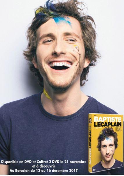 Code promo Carrefour : Des lots de 2 places pour le spectacle de Baptiste Lecaplain à Paris à gagner