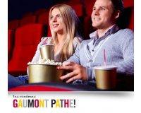 Groupon: Places de cinéma Gaumont et Pathé dès 8,70€ valables jusqu'au 31 mai 2018