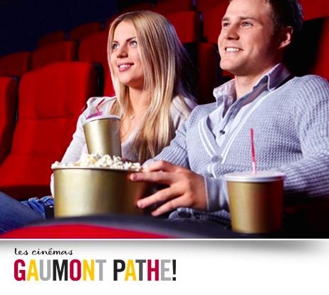 Code promo Groupon : Places de cinéma Gaumont et Pathé dès 8,80€