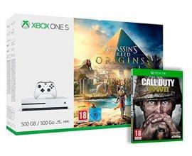 Amazon: Xbox One S 500 Go Assassin's Creed Origins + Call of Duty : World War II à 249€
