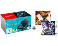 Micromania: Pokemon Ultra Lune ou Soleil à - 50% pour l'achat d'une Nintendo New 2ds Xl