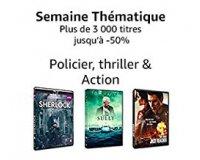 Amazon: 3000 DVD & Blu-ray Policier, thriller & Action jusqu'à -50%