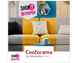 Showroomprive: Payez 30€ pour 60€ de bon d'achat chez Conforama