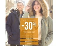 Bonobo Jeans: -30% sur les manteaux, vestes et parkas de la collection Automne/Hiver 2017