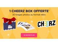 Wonderbox: 1 Cheerz Box offerte avec 30 tirages photos au format rétro pour toute commande