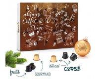 MaxiCoffee: 5€ offerts sur le nouveau calendrier de l'avent capsules café