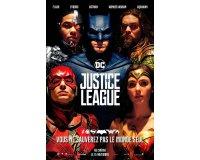 """Jeuxvideo.com: 10 lots de 2 places de cinéma pour le film """"Justice League"""" à gagner"""